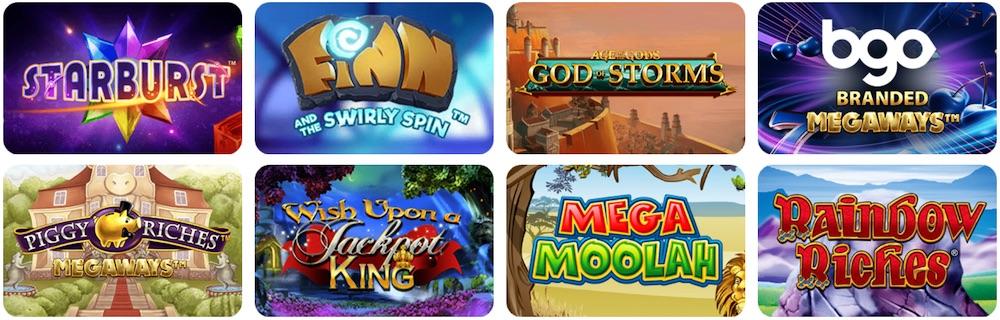 BGO Casino UK Games