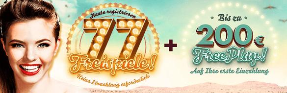 777 Casino Gratis Freispiele Angebot