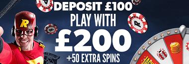 Rizk Casino UK New Player Bonus-2