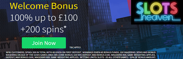 Slots Heaven UK Casino Free Spins