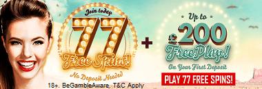 777 Casino Free Bonus