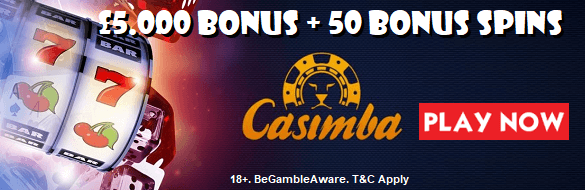 Casimba UK Sign Up Welcome Bonus