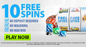 BGO Casino 10 Free Spins Bonus No Deposit