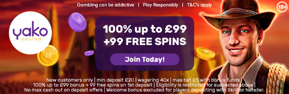 Yako Casino Free Bonus
