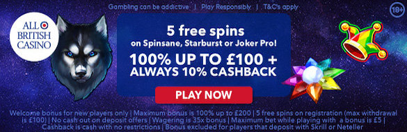 All British Casino Play